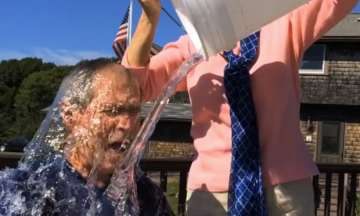 george buch ice bucket challenge