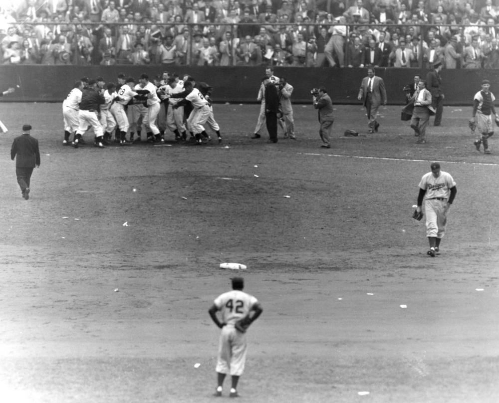 Playoffs 1951Thomson hr 8436.89 Photo File