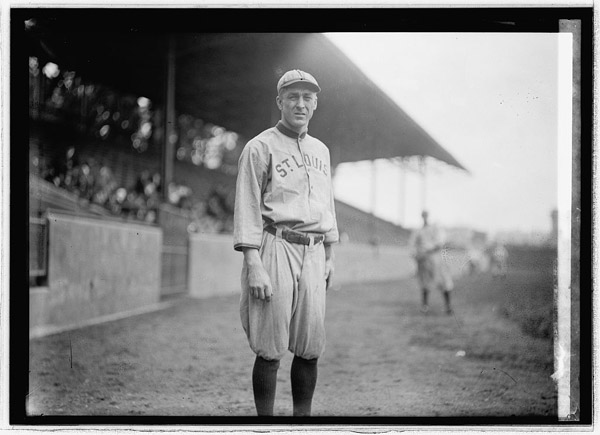 Branch Rickey in St. Louis Browns Uniform, 1914